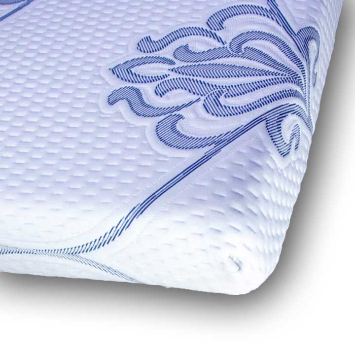 the crossroad froli custom rv mattress showing springs and sheet
