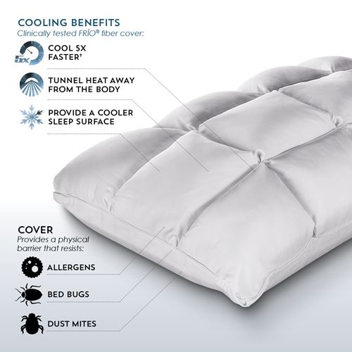 cooling benefits of cooling pillow