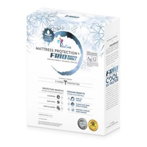 frio matress protector that provides comfort as well as prevention of damaging the mattress