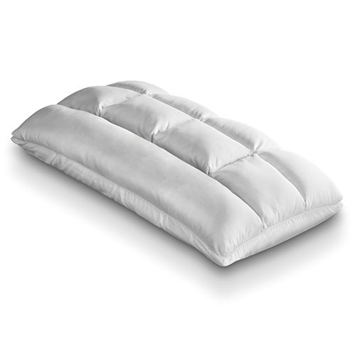 top of the line pillow filled with down fill